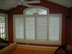 Image result for plantation shutters eyebrow