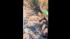 Tree Painting Impressionist Style