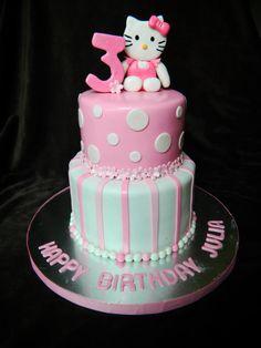 Hello Kitty Cake @Yesenia Hernandez