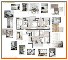 Moodboard private residence moodboard efarchitettura for Interior design appartamenti