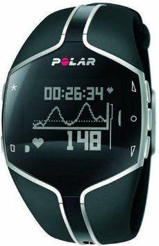 Amazon.com: Polar FT80 Heart Rate Monitor Watch (Black): Polar: Sports & Outdoors