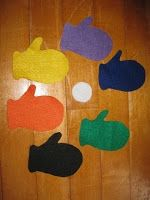 Tons of Fun: Tot School - Mittens Snowball, snowball cold and round behind which mitten can you be found?