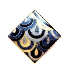 Vintage Abstract Brooch