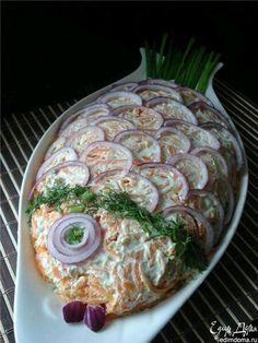 Dale un toque de originalidad a una ensalada cremosa a la hora de servirla. Generalmente estos platillos (también conocidos como ensaladas...
