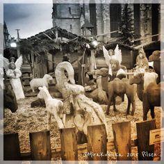 PilsenCzech Republic #bethlehem #christmas #plzeň #plzen #pilsen #heritage #history #sculpture #statue #art #tradition #square #central #cz #czech #czechia #czechrepublic #czechdesign #česko #české #českárepublika #city #santa #DiscoverCZ