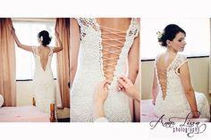 Irish crochet wedding dress-Sandra.