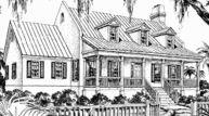 Country Georgian - J. Dean Winesett | Southern Living House Plans