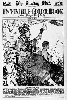 """""""Invisible Color Book,"""" Evening Star (Washington, DC), May 28, 1922. Library of Congress, Chronicling America: Historic American Newspapers. #ColorOurCollections"""