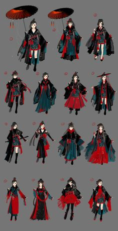 Moro Romanov's media statistics and analytics Character Outfits, Character Art, Mode Tartan, Mode Kimono, Estilo Lolita, Fashion Art, Fashion Outfits, Illustration Mode, Fashion Design Sketches