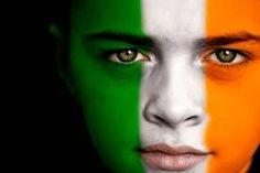 green irish face - Buscar con Google