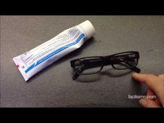 Trucos caseros para limpiar las gafas | facilisimo.com