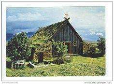 Víðimýri Church, Skagafjord, Iceland,