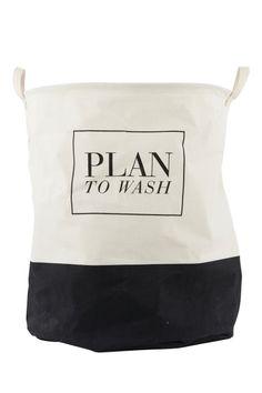 Kosz na pranie - Plan to wash House Doctor - www.chwilainspiracji.pl  Kylpyhuoneideoita 14c3c1be30