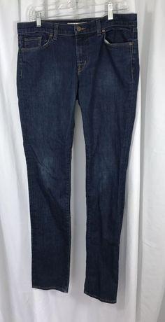 J.Brand Pencil Leg Tall Person Blue Jeans sz 32 x 34.5 Made in California USA  #JBrand #Pencil