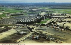 chicago o'hare airport | 1970s - Chicago O'Hare International Airport Post Card - Chicago O ... / 1970's! Around April 1974 for me when arriving and departing transfer flights here for me. When I had my Navy Vacation time. From American Airlines arrival, to United? or Delta, Out on Delta for sure.