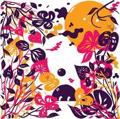Merijn Hos   Illustrated Minds print pattern inspiration
