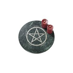 Pentagram Lazy Susan - New Age & Spiritual Gifts at Pyramid Collection ($90) ❤ liked on Polyvore featuring witch, filler, backgrounds, magic and objects