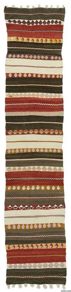 Runner Vintage, Antique Kilim Rugs | Kilim Rugs, Overdyed Vintage Rugs…