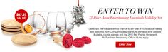 Enter for your chance to Win this 12 piece Holiday Set.  *No purchase necessary. Open to legal residents of the 50 U.S. & DC, including authorized independent Avon sales representatives, 18 or older. Sweepstakes ends 11:59 p.m. ET 11/30/15. Void where prohibited.