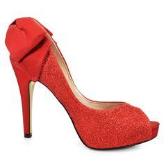 Sapato Peep Toe Noiva Feminino Laura Porto