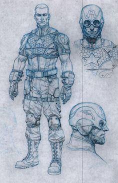 "Captain America ""Marvel NOW!"" Redesign"