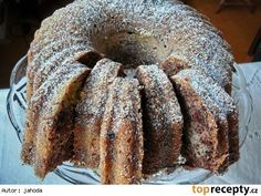 Low Calorie Chocolate, Chocolate Recipes, Apple Cookies, Bunt Cakes, Czech Recipes, Healthy Diet Recipes, Sweet Cakes, Pavlova, Bagel
