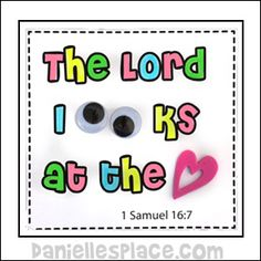 Lord Looks at the heart