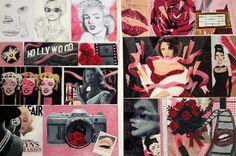 Boards, Polaroid Film, Top, Painting, Image, Design, Planks, Painting Art