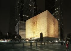 Rex reveals performing arts centre for New York's World Trade Center