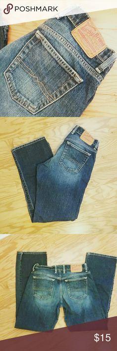Selling this Lucky Brand Easy Rider jeans on Poshmark! My username is: jydesign29. #shopmycloset #poshmark #fashion #shopping #style #forsale #Lucky Brand #Denim