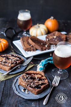 Pumpkin Beer French Toast