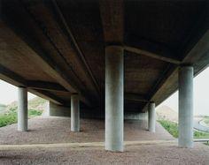 Hans-Christian Schink, A 4, bei Meerane, aus: VDE (Verkehrsprojekte Deutsche Einheit), 1995, C-Print/Diasec, 178 x 211 cm und 121 x 143 cm, Auflage 5 + 3