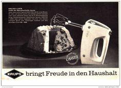 Original-Werbung/ Anzeige 1960 - KRUPS 3 MIX RÜHRMIXER - ca. 200 x 180 mm