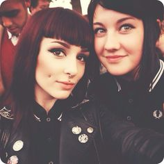 """sellyourseconds: """" Yesterday at Madness with skingirl071  """" ♡"""