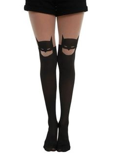 For The Ladies: Hot Topic Batman Silhouette Tights