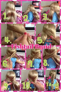 Easy american girl hairstyle