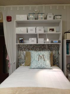 Directions And Photos For Building An Over The Bed Dorm Room Cubby College Great Adding Extra Storage Definately A Idea Overhead