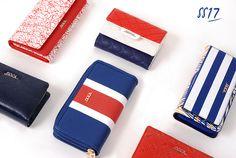Nautical Wallets!  www.doca.gr  #doca #ss17 #nautical #stripes #wallets #bags #accessories #marine #saltmarine #fashion Nautical Stripes, Second Best, Coco Chanel, Wallets, Two By Two, Card Holder, Bags, Accessories, Fashion
