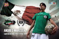 Andrés Mariscal, NUEVO INTEGRANTE DE KSKRITA, la Selección Mexicana de F...