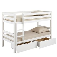 1000 images about bunkbeds on pinterest family bed lit mezzanine and comp - Lit 90x200 avec rangement ...