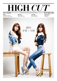 Sooyoung and Seohyun become sexy girls-next-door for 'High Cut'