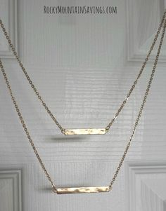 Bay to Baubles Kalea Double Bar Necklace - Stitch Fix #4