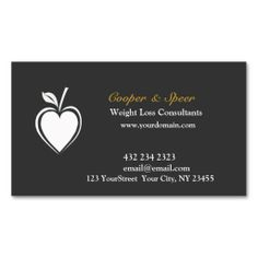 Healthy Heart  Dietitian Nutritionist Business Business Cards. This is a fully customizable business card and available on several paper types for your needs. You can upload your own image or use the image as is. Just click this template to get started!