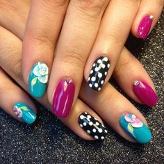 Instagram media by billy820nails - Gel manicure | perfect match gel #280 | Artistic gel #390