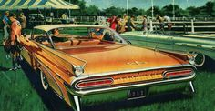 1959 Pontiac Bonneville 2-Door Hardtop - 'Horsepower': Art Fitzpatrick and Van Kaufman