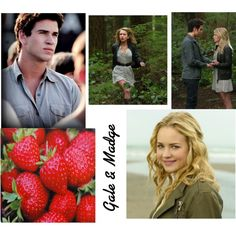 """""""Gale Hawthorne and Madge Undersee"""" by amelia-328 on Polyvore"""