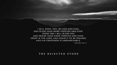 #TheRejectedStone