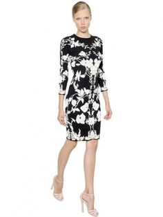 Black And White Floral Dresses