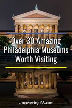The best museums in Philadelphia, Pennsylvania to visit Independence Hall, Visit Philadelphia, Philadelphia Museum Of Art, African American Museum, Jewish History, Education Architecture, British Library, History Museum, Santo Domingo