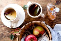 Hot Apple Cinnamon Shrub Tea